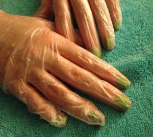 gloved-hand
