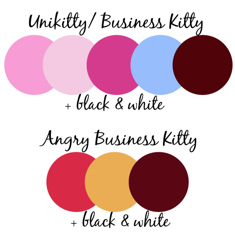 Unikitty-Palettes